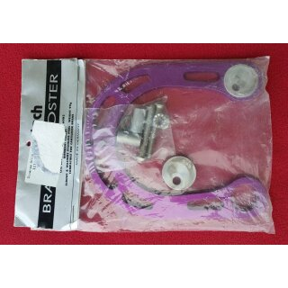 Bike-Tech brakebooster, alloy, purple, made in Germany, NEW